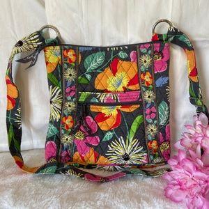 Vera Bradley Bright Floral Crossbody Purse/Bag